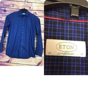 🔥 Eton shirts men contemporary 43/17